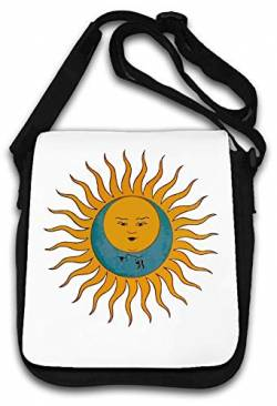 Sun and Moon Tarot Card Styled Graphic Schultertasche von Atprints