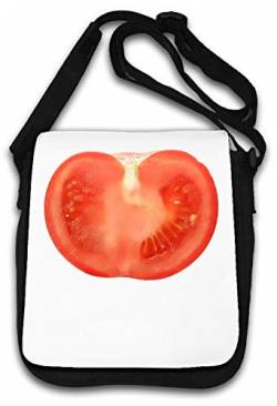 Tomato Cross Section Schultertasche von Atprints