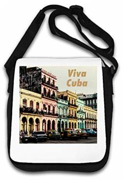 Viva Cuba Vintage Photo Art Schultertasche von Atprints