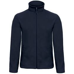 B&C Collection Herren ID 501 Mikro Fleece Jacke (3XL) (Marineblau) von B&C