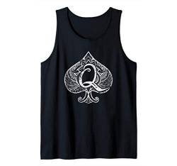 """Queen of Spades"" Sexy Hotwife Cuckold Swinger Gift Hot Wife Tank Top von BDSM Submissive Shirts"