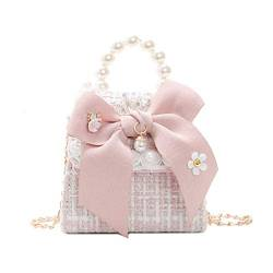 BigForest Girls Princess Handtasches Tote Mini Crossbody Woolen Schultertasche Umh?ngetasches Kinder Purse Wallet von BF-Handbag