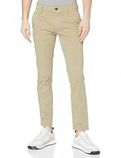 BOSS Herren Schino-Slim D Hose, Braun (Light/Pastel Brown 239), 33W/32L von BOSS
