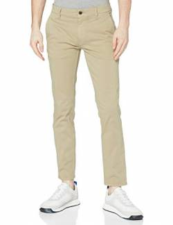 BOSS Herren Schino-Slim D Hose, Braun (Light/Pastel Brown 239), 36W/34L von BOSS
