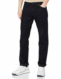 BOSS Herren Maine BC-C Regular-Fit Jeans aus dunklem Stretch-Denim von BOSS