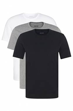 BOSS Herren RN 3P CO T-shirts, 3er Pack, Mehrfarbig (Assorted Pre-Pack 999), X-Large von Boss