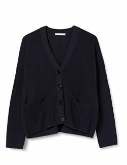 BOSS Womens Willia Cardigan Sweater, Open Blue (466), M von BOSS