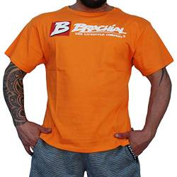 Brachial T-Shirt Sign Next orange XL - Für Bodybuilding, Kraftsport und Fitness von BRACHIAL THE LIFESTYLE COMPANY