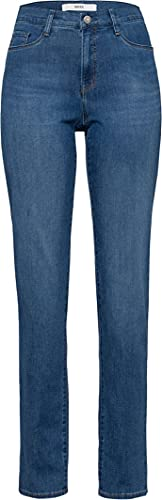 BRAX Damen Style Carola Blue Planet Bootcut Jeans, Used Light Blue, 48K von BRAX