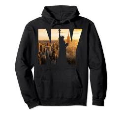 New York City Fashion Graphic Design T-shirts, New York City Pullover Hoodie von Bahaa's Tee