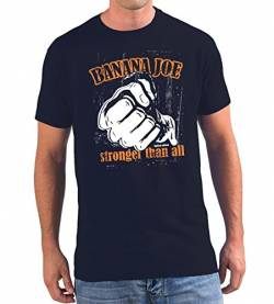Banana Joe Original Used Look T-Shirt - Limited Edition #9 Navyblau 3XL XXXL von Banana Joe