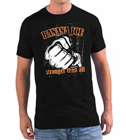 Banana Joe Original Used Look T-Shirt - Limited Edition #9 schwarz M von Banana Joe