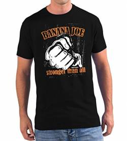 Banana Joe Original Used Look T-Shirt - Limited Edition #9 schwarz 3XL XXXL von Banana Joe