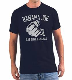 Banana Joe Original Premium T-Shirt No6 Navyblau XXL von Banana Joe