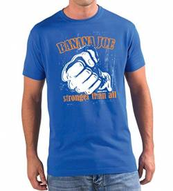 Banana Joe Original Used Look T-Shirt - Limited Edition #9 Royalblau XXL von Banana Joe