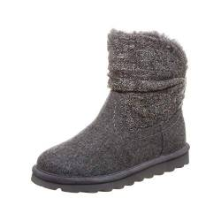 Bearpaw Lammfell Stiefelette Virginia 39 Gray II (055) von Bearpaw