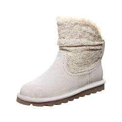 Bearpaw Damen Virginia Schlupfstiefel, Grau (Winter White 909), 36 EU von Bearpaw