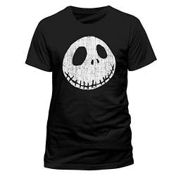 Beats & More Nightmare Before Christmas - Jack Cracked Face (Unisex) (L) von Beats & More