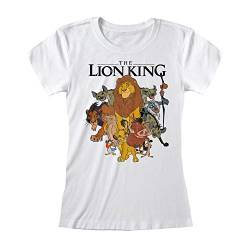 Lion King - Vintage Group Pose (Fitted) (L) von Beats & More