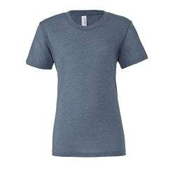 Canvas Triblend Herren T-Shirt mit Rundhalsausschnitt (Medium) (Denim Triblend) von Bella+Canvas