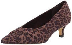 Bella Vita Womens Pump, Leopard Suede, 6.5 Wide US von Bella Vita