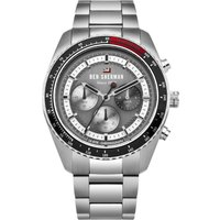 Ben Sherman The Ronnie Chronograph Herrenchronograph in Silber WBS108BSM von Ben Sherman London