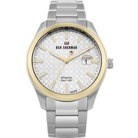 Ben Sherman The Ronnie Professional Herrenuhr in Silber WBS109GSM von Ben Sherman London