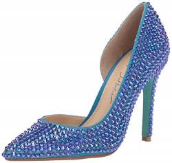 Betsey Johnson Damen SB-HAZIL Pumps, Blaugrün, 38.5 EU von Betsey Johnson