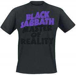 Black Sabbath Master of Reality Tracklist T-Shirt schwarz XL von Black Sabbath