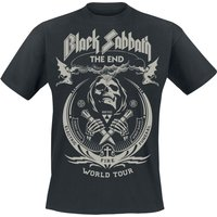 Black Sabbath The End Grim Reaper  T-Shirt  schwarz von Black Sabbath