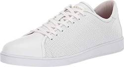 Blackstone Low Sneaker Perf - RM40 White 44 (US Men's 10-10.5) von Blackstone