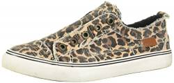 Blowfish Play Modische Damen-Sneaker, (Natural City Kitty Canvas), 38.5 EU von Blowfish