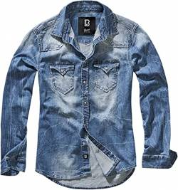 Brandit Denimshirt Riley - Blue - XL von Brandit