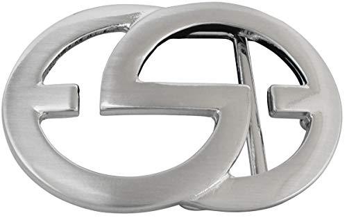 Buckle Wechselschlie/ße G/ürtelschlie/ße 40mm Massiv Brazil Lederwaren G/ürtelschnalle Olbia 4,0cm Dorn-Schlie/ße F/ür Wechselg/ürtel bis zu 4cm Breite