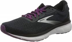 Brooks Damen Trace Laufschuh, Ebony Black Wood Violet, 42.5 EU von Brooks