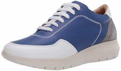 Brothers United Damen Made in Brazil Luxury Leather Fashion Sneaker Turnschuh, Royal Blue Nappa Soft, 38 EU von Brothers United