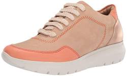 Brothers United Damen Made in Brazil Luxury Leather Fashion Sneaker Turnschuh, Sandnubuk, 40.5 EU von Brothers United