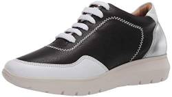 Brothers United Damen Made in Brazil Luxury Leather Fashion Sneaker Turnschuh, Schwarzes Nappa Soft, 38 EU von Brothers United