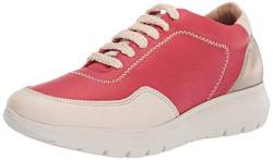 Brothers United Damen Made in Brazil Luxury Leather Fashion Sneaker Turnschuh, Strawberry Nappa Soft, 38 EU von Brothers United
