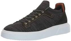 Brothers United Herren Leather Knit Lightweight Technology Fashion Sneaker Turnschuh, Black Lux Strick/Forest Green Nubuck, 41 EU von Brothers United