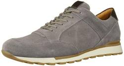 Brothers United Herren Leather Made in Brazil Fashion Trainer Sneaker Turnschuh, Navy Grainy, 45 EU von Brothers United