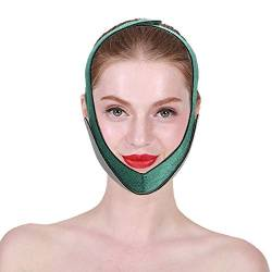 Face Lifting Bandage, V-Form Face Lifting Straffung Korrektur Bandage Shaper Abnehmen Gesichtsschutzgürtel für Frauen Mädchen von Brrnoo