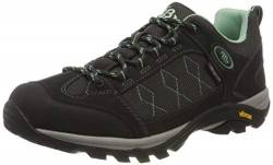 Brütting Mount Cook Low Damen Outdoor- & Trekkingschuh, Anthrazit/ Mintgrün, 36 EU von Brütting