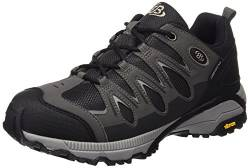 Brütting Expedition Unisex Walkingschuhe, Schwarz/ Grau, 36 EU von Brütting