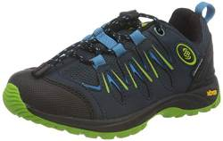 Brütting Expedition Kids Unisex Kinder Outdoor- & Trekkingschuh, Marine/ Blau/ Lemon, 35 EU von Brütting