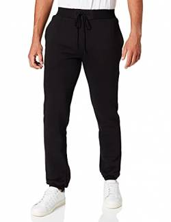 Build Your Brand Herren Relaxed Sporthose Heavy Sweatpants, Schwarz (Black 00007), L von Build Your Brand