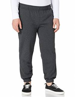 Build Your Brand Herren Basic Sweatpants Hose, Charcoal, 5XL von Build Your Brand