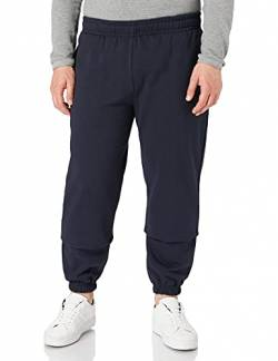 Build Your Brand Herren Basic Sweatpants Hose, Navy, 5XL von Build Your Brand