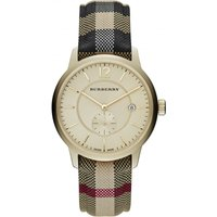 Burberry The Classic Horseferry Check Herrenuhr in Mehrfarbig BU10001 von Burberry