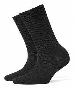 Falke Wight SO 22195 Damen Socken, Gr. 36,  Schwarz (black ) von Burlington